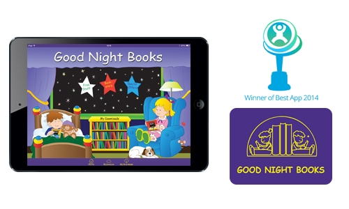 Good Night Books is available in app stores soon.